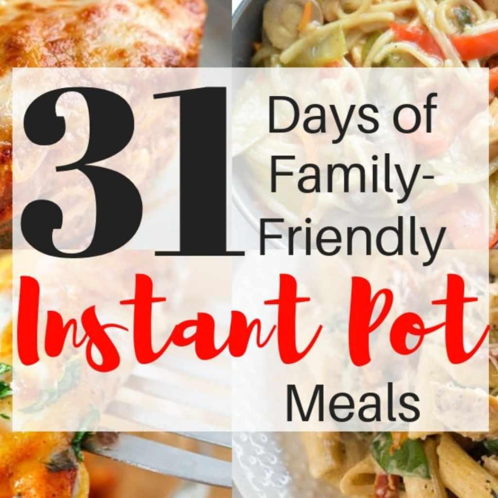 31 Days of Delicious Family Friendly Instant PotRecipes https://t.co/lvYHoBNOfy https://t.co/NyAySlVd8R