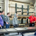 #TBT On #MFGDay17, defense contractor @GeneralToolCo discussed the technical and non-technical jobs available in #manufacturing with student visitors. Come discover the wide range of career opportunities yourself this #MFGDay18! https://t.co/byJ8yXnN5r