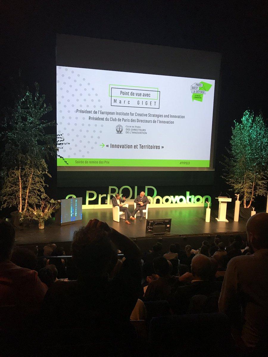 Paris doit re-devenir le LivingLab européen - Marc Giget #PIPOLD #villeCourbevoie #frKYF #innovation #startup