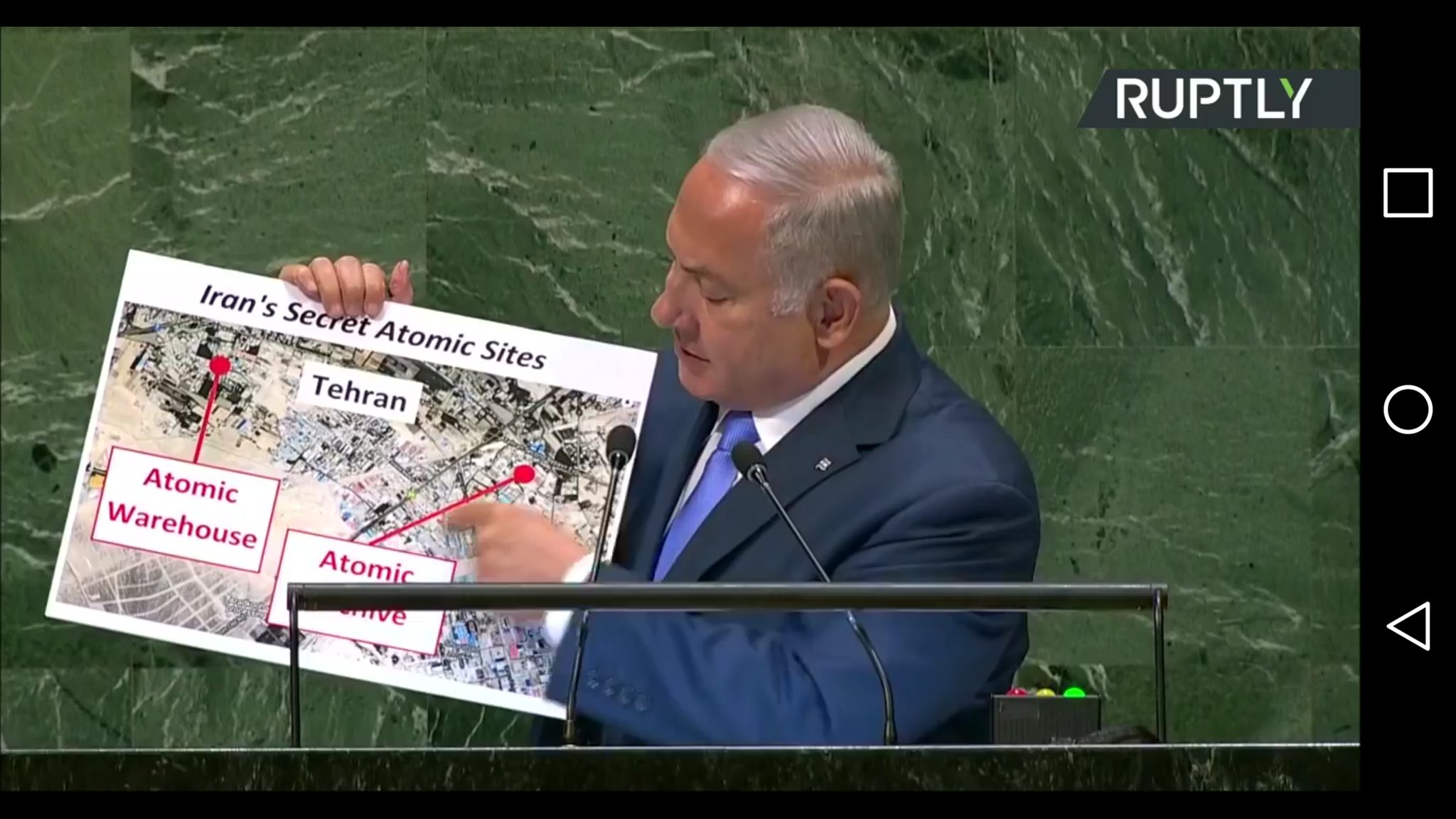 Картинки Нетаньяху в ООН