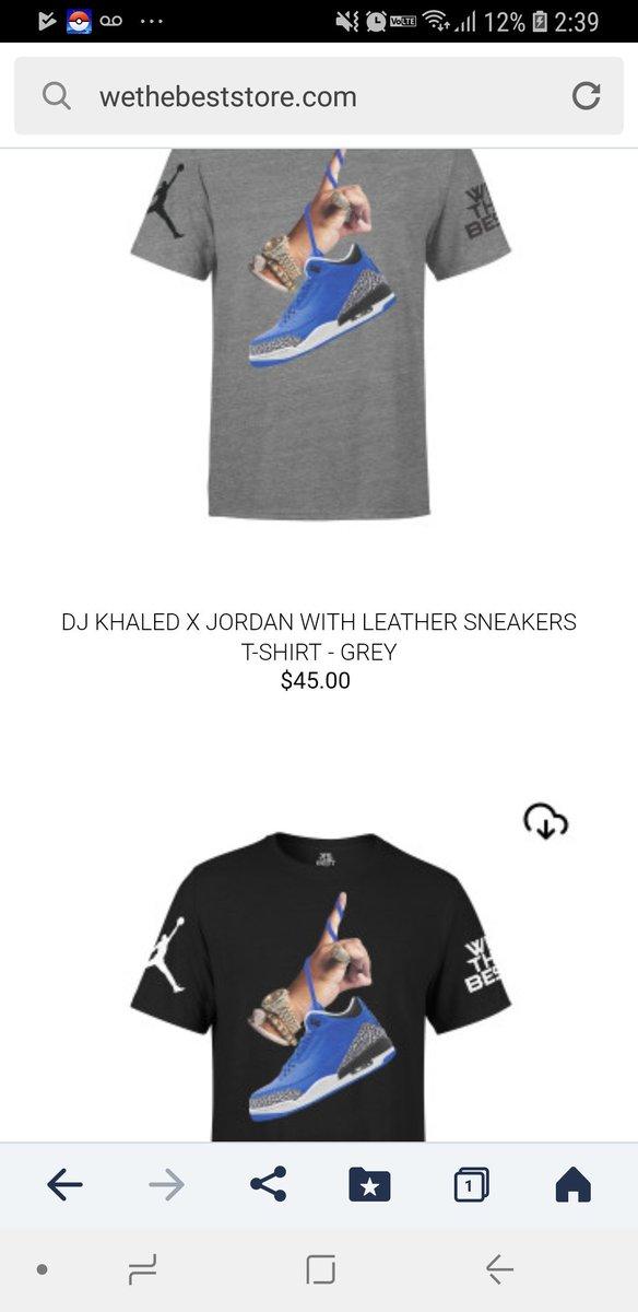 ysk55 on twitter dj khaled jordan パーカーもtシャツもキャンセル