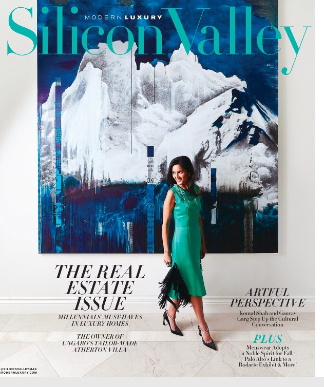 The first issue of Modern Luxury Silicon Valley under my direction features two Silicon Valley execs, Komal Shah and Gaurav Garg, who are starting a new arts conversation series at Stanford. Take a flip through the digital edition.   https://t.co/bp9w6IgXke