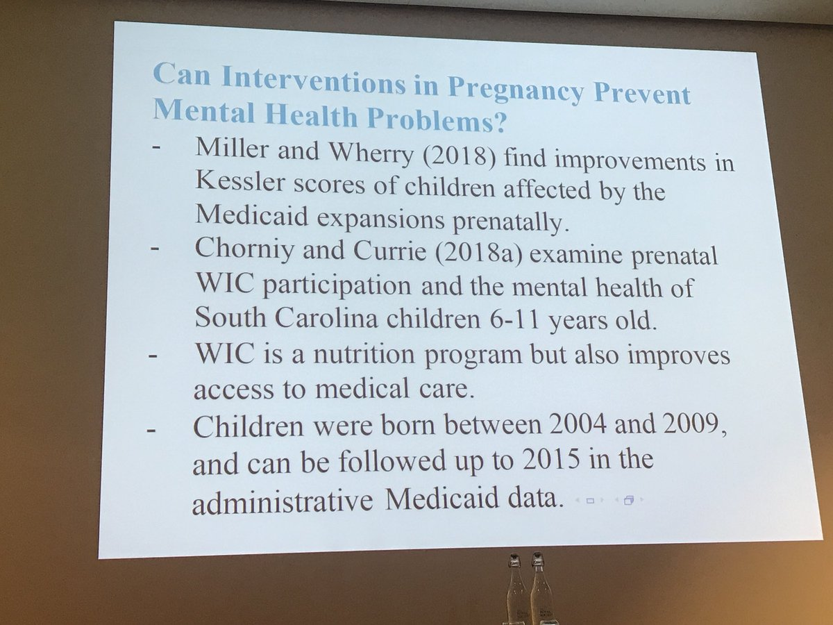 Can Mental Illness Be Prevented In Womb >> Gabriella Conti On Twitter Can Pregnancy Interventions Prevent
