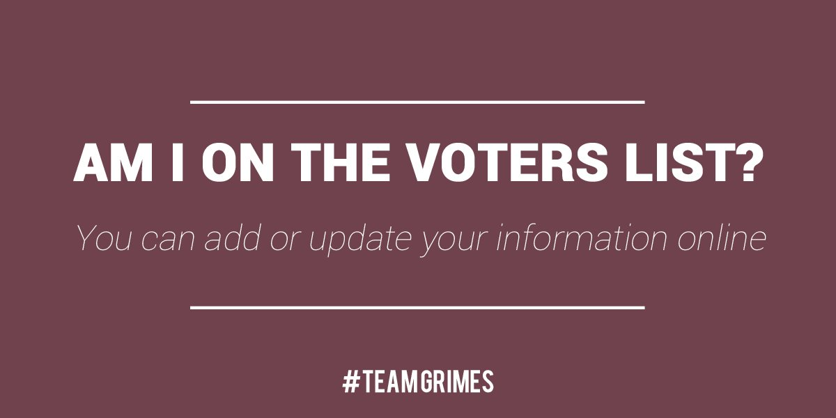 Re-Elect Mark Grimes on Twitter: