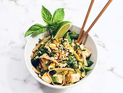 What's for dinner? How about a healthy veggie Pad Thai. Click here for the recipe: https://t.co/1H4wF4ckqk https://t.co/K5E2UWZ57t