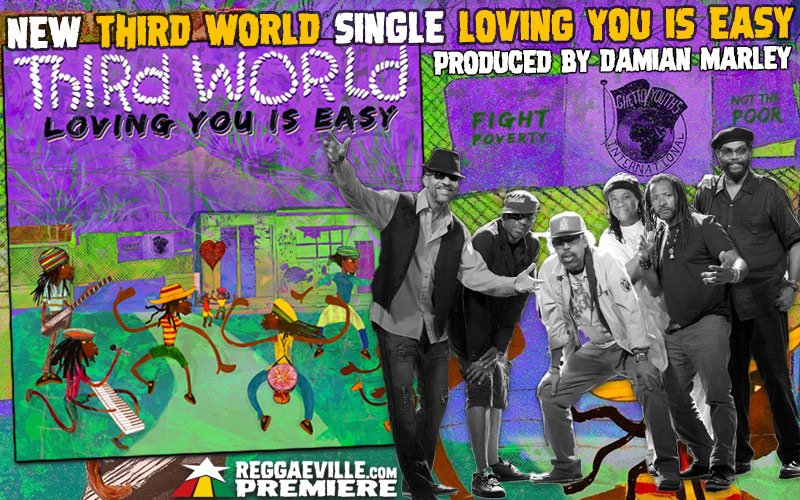 World Premiere @ bit.ly/tw-lyie NEW THIRD WORLD single - Loving You Is Easy produced by Damian Marley #linkinbio #outtomorrow #thirdworld #damianmarley