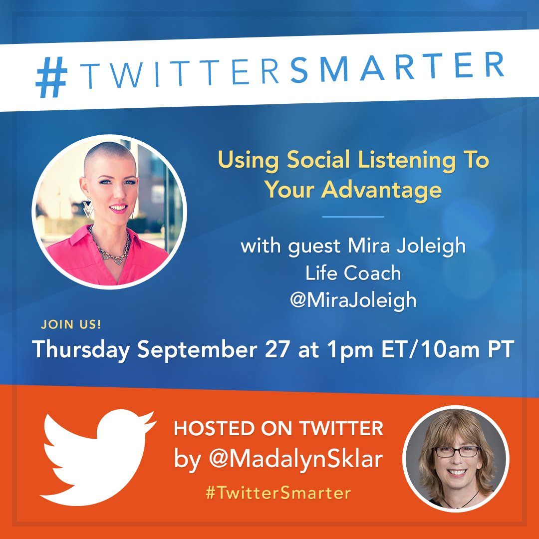 #TwitterSmarter Chat Recap: Using Social Listening to Your Advantage