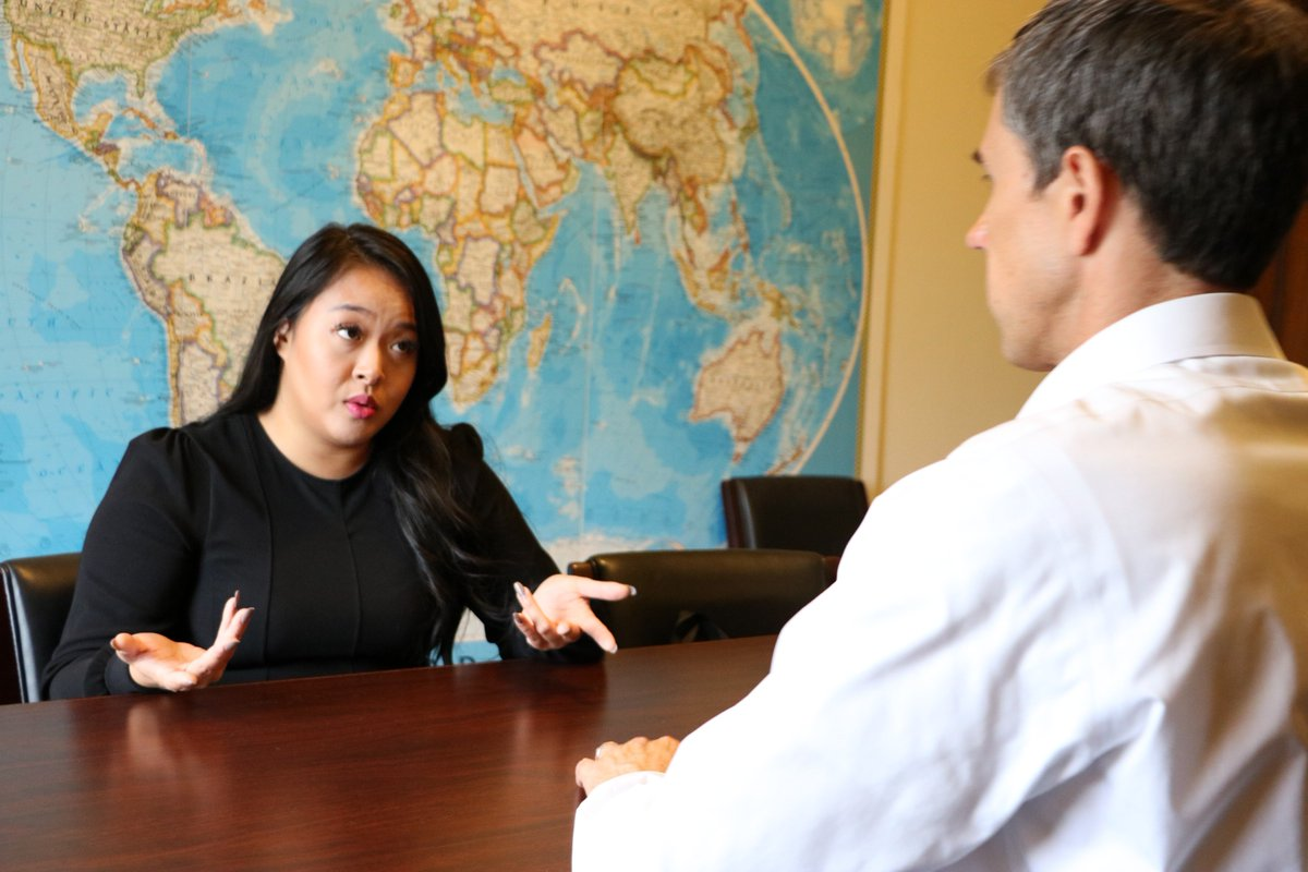 Important meeting with Mindy Nguyen regarding Michael Nguyen's detainment in Vietnam. I, along with my colleagues, are continuing to encourage Michael's release and look forward to seeing him safe and back home.