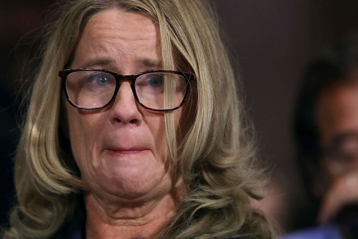 Image result for christine blasey ford story