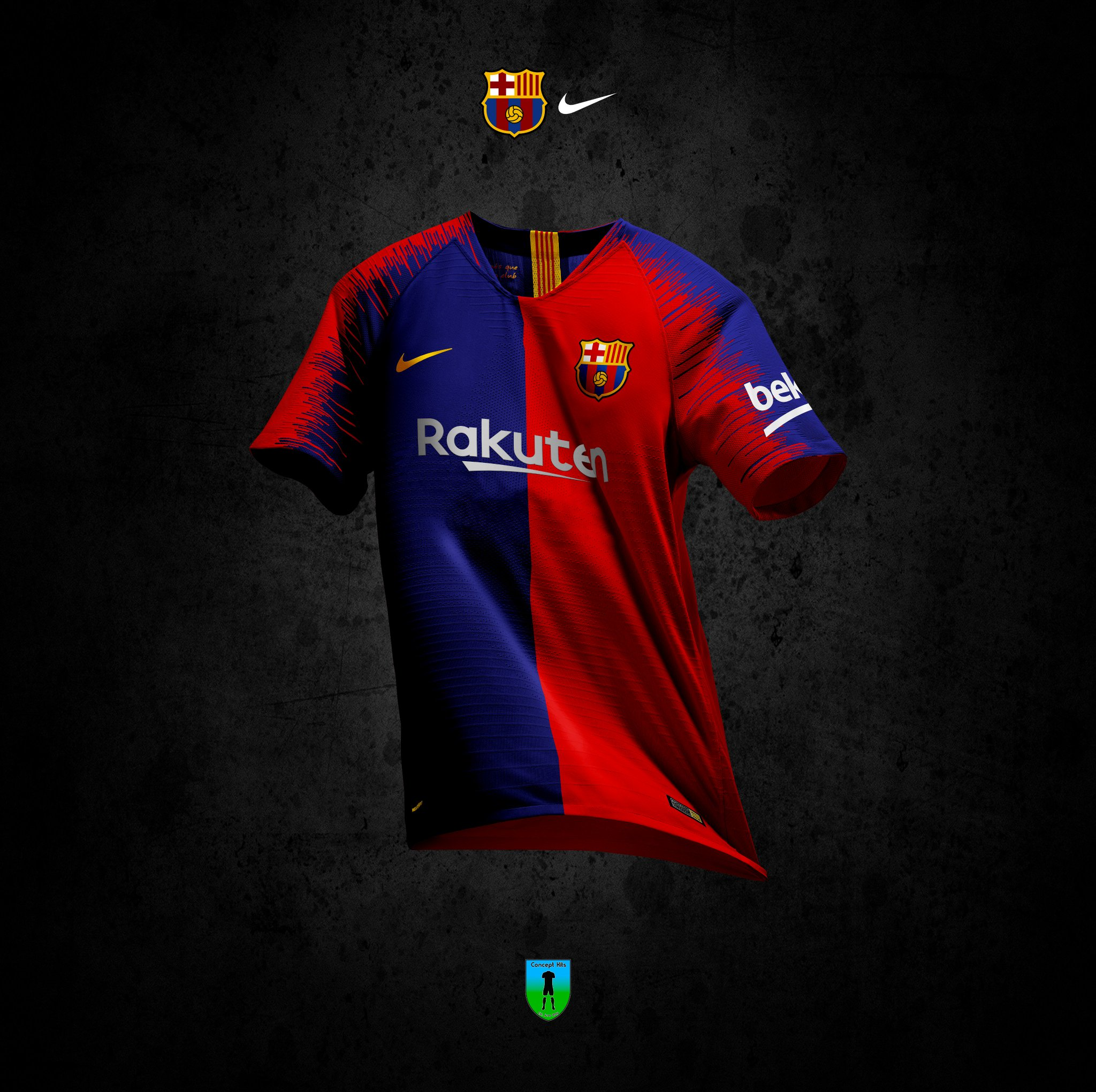 best authentic 53746 e4838 This Barcelona Concept Kit Features Their Re-designed Logo.