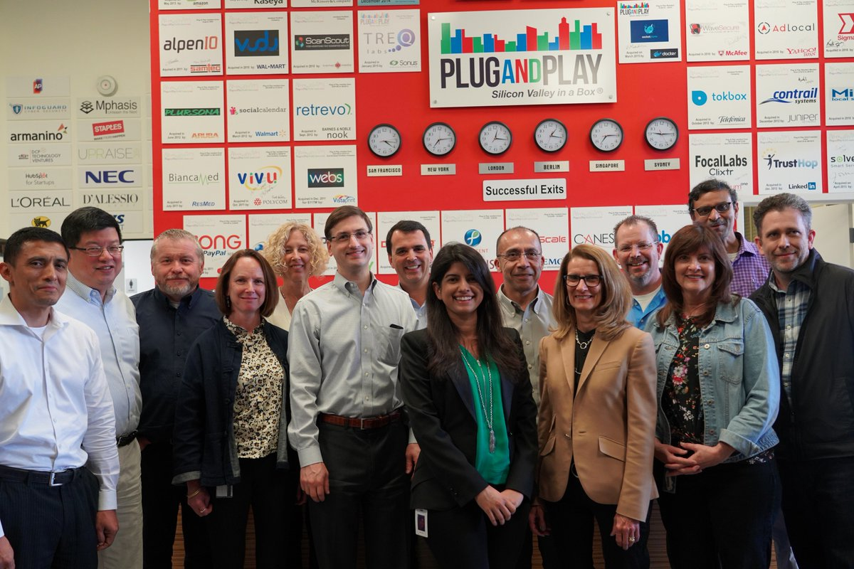 A huge thank you to the executive team from @MedImmune for visiting our headquarters for a deal flow in #SiliconValley yesterday. Our #CEO @SaeedAmidi also joined in the conversation to #TransformHealthcareTogether. @AstraZeneca https://t.co/uWtq5HfrFj