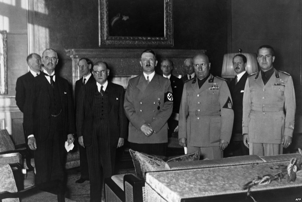 Today In History On Twitter Today In 1938 The Munich Agreement