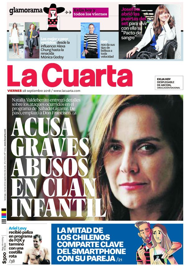 La Cuarta - @lacuarta Chile : Latest news, Breaking headlines and ...