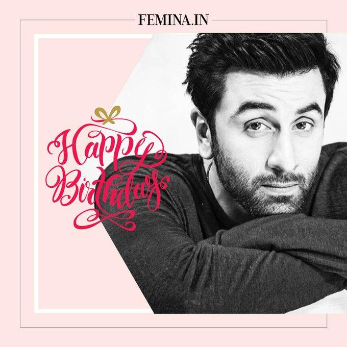 Wishing the handsome Ranbir Kapoor a very happy birthday!