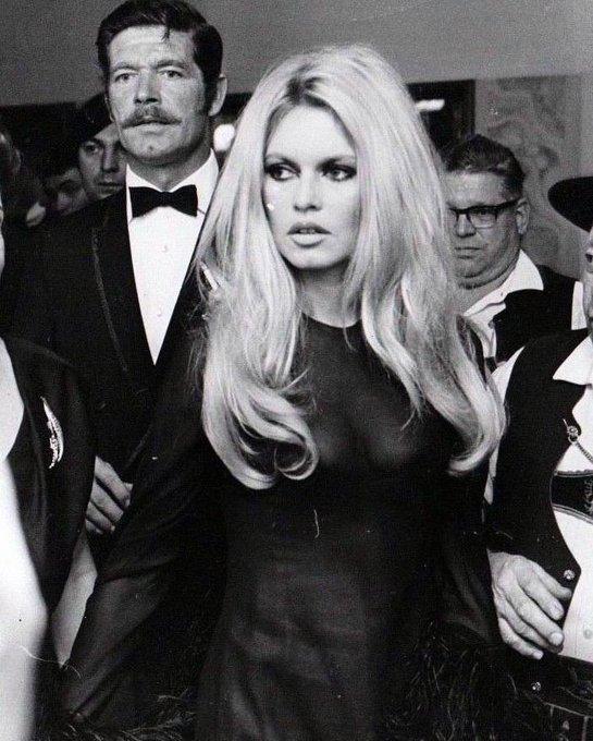 Happy Birthday Miss Brigitte Bardot from the Stephen Boyd Blog!!
