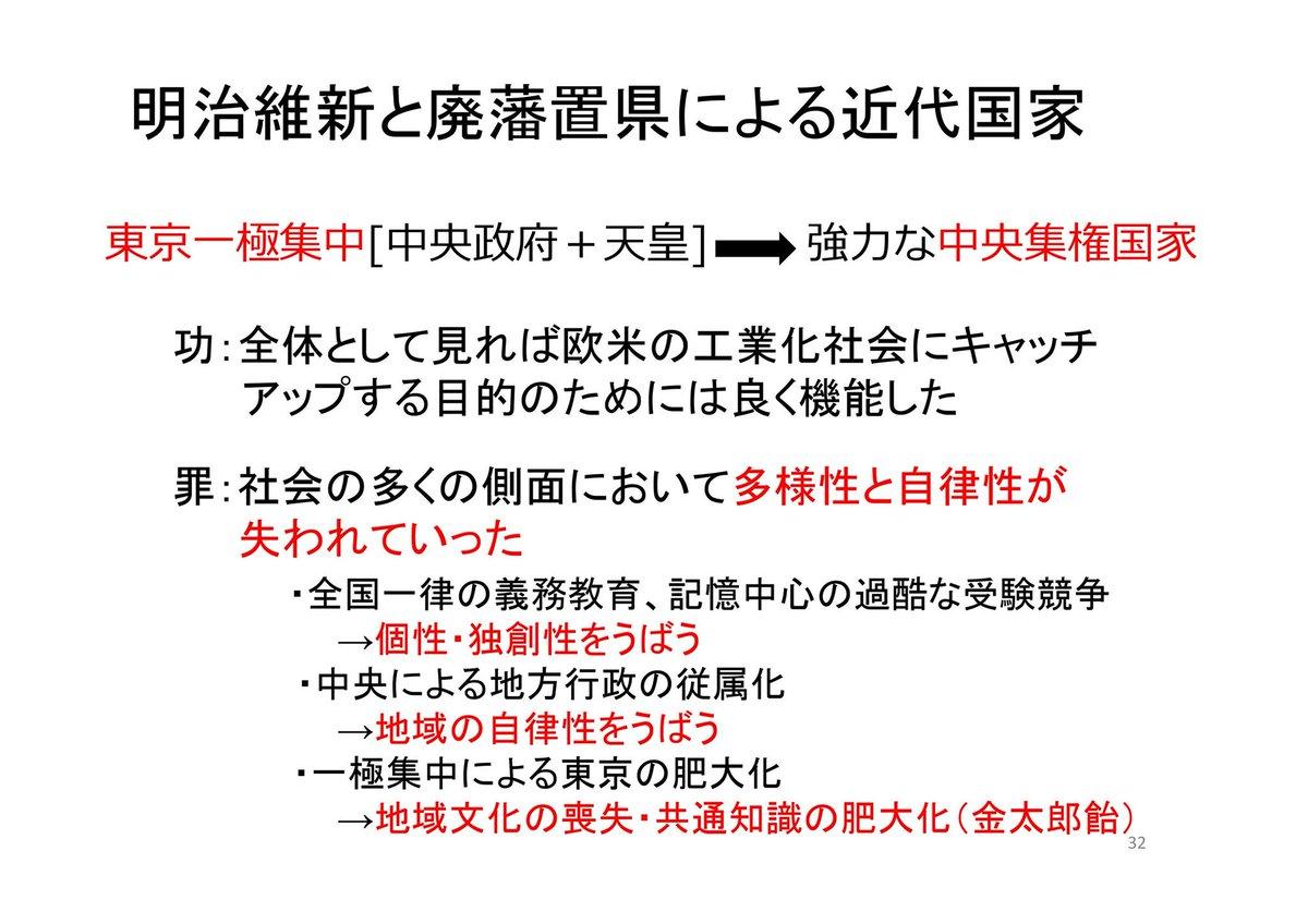 集権 は と 中央 国家 NHK高校講座