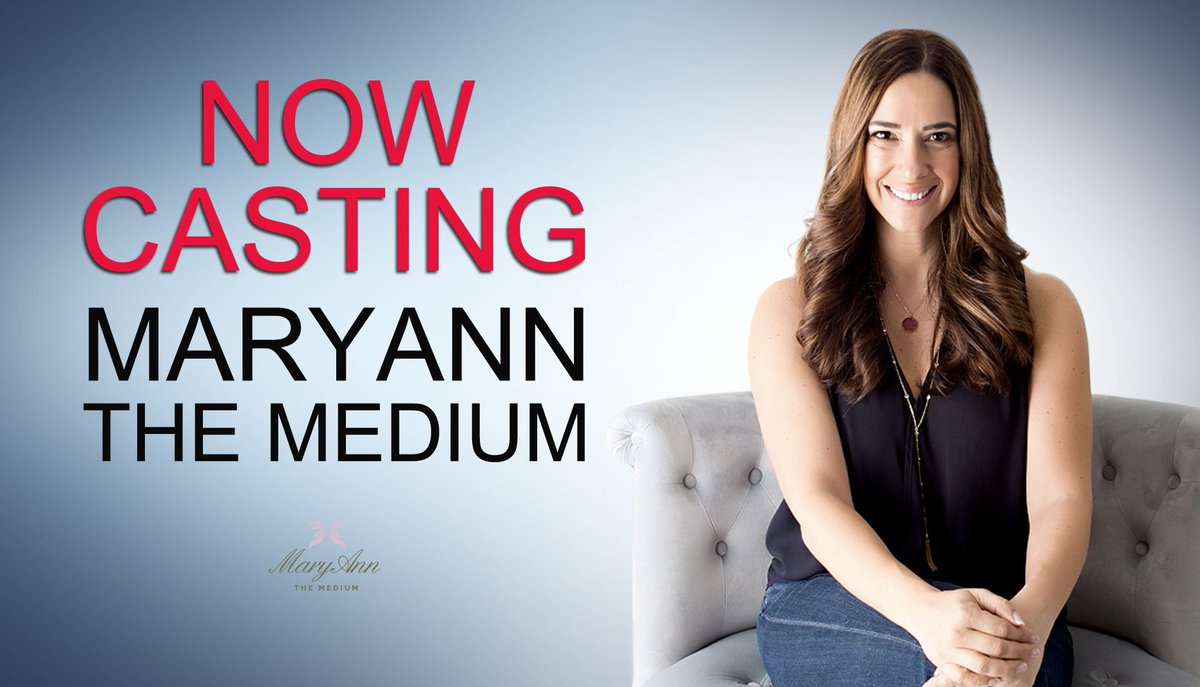 Now Casting Acclaimed Psychic Maryann Dimarco Wants To Help You On