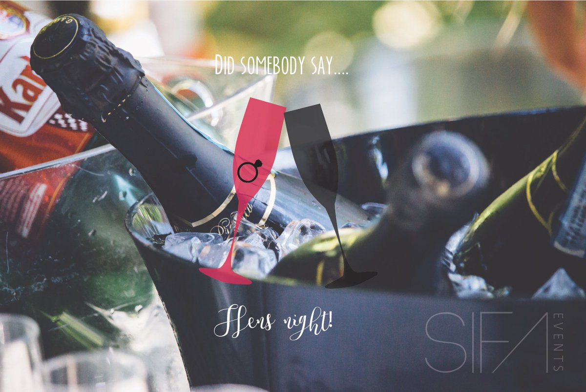 You're busy planning your wedding and you're ready to celebrate, dance and sing with your loved ones. That can only mean one thing. A hens night. Instead of having your uncle DJ your night, avoid an embarrassing job with choosing SIFA Events. #SIfaEvents #HensNight #bachelorette https://t.co/J4ArIrYLAk