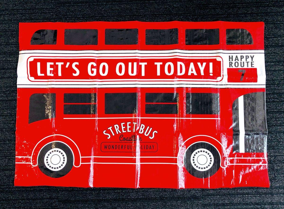 test ツイッターメディア - 赤色は目印にもぴったり! 大きなバッグに詰め込んでおでかけしよう♪ バス柄は、おそろいのレジャーシートもあります。  #キャンドゥ #100均 #レジャーバッグ #レジャーシート #チェック柄 #バス柄 #おでかけ #ピクニック #行楽 #秋の行楽 https://t.co/DlTYzBYSqW
