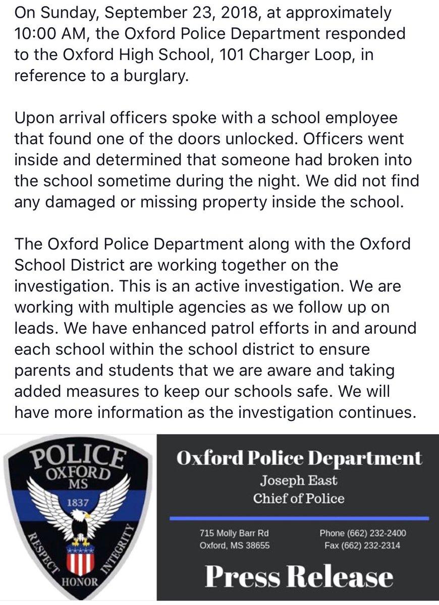 Oxford Police Dept on Twitter:
