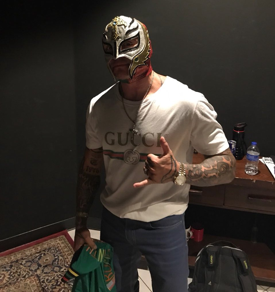 .@reymysterio is on @NacionESPN2 to talk #WWE2K19 this hour! Watch on #ESPNews.