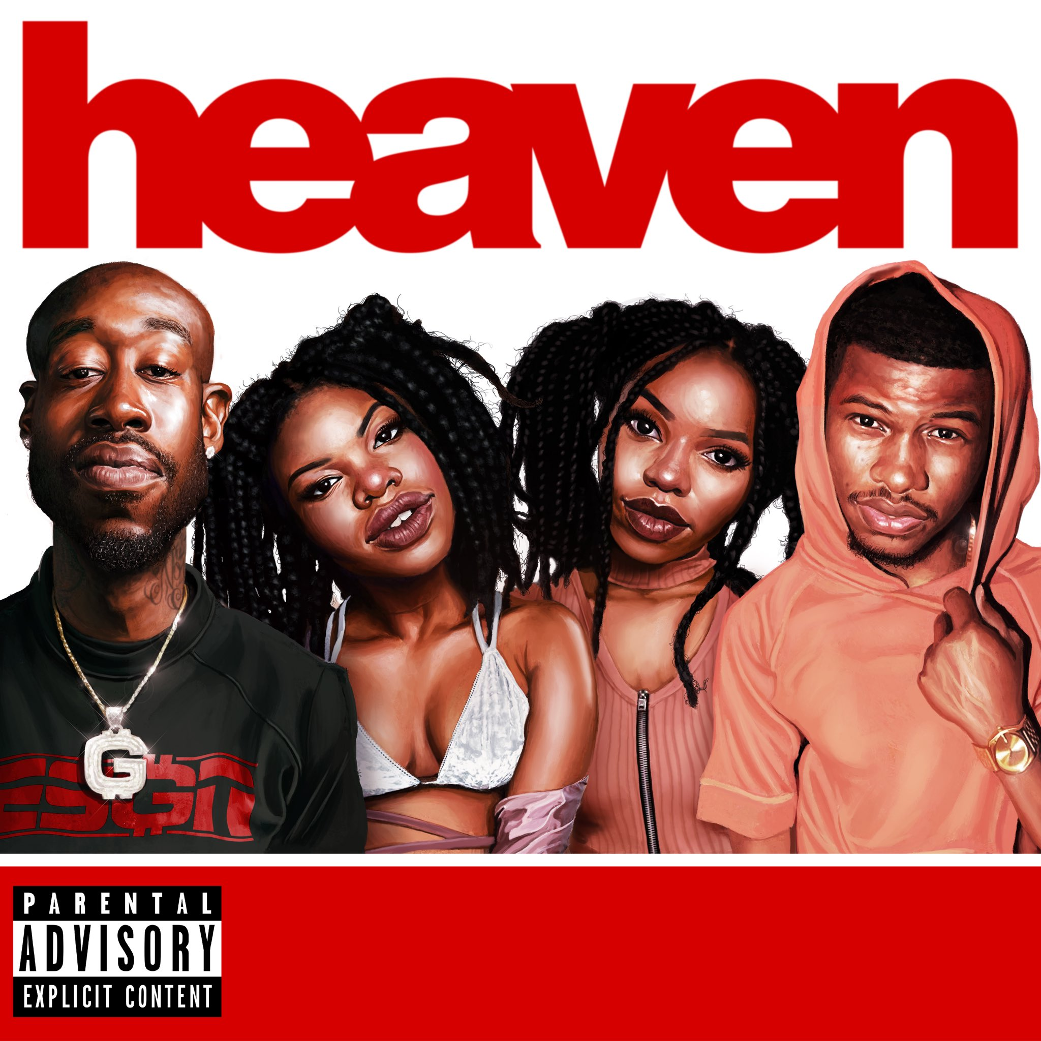 "New shit w/ @IAMNOBODI @NickGrantmusic @vanjess   ""Heaven""  https://t.co/roXggEkyrn https://t.co/V7oeX19Dkn"