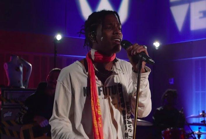 "Watch A$AP Rocky's cover of Otis Redding's ""(Sittin' On) the Dock of The Bay"" https://t.co/eCSnZfMABu  https://t.co/wBVkaRxAyv"