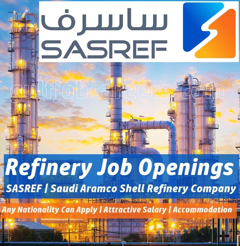Image result for SASREF Oil and Gas Job Vacancies – Saudi Arabia
