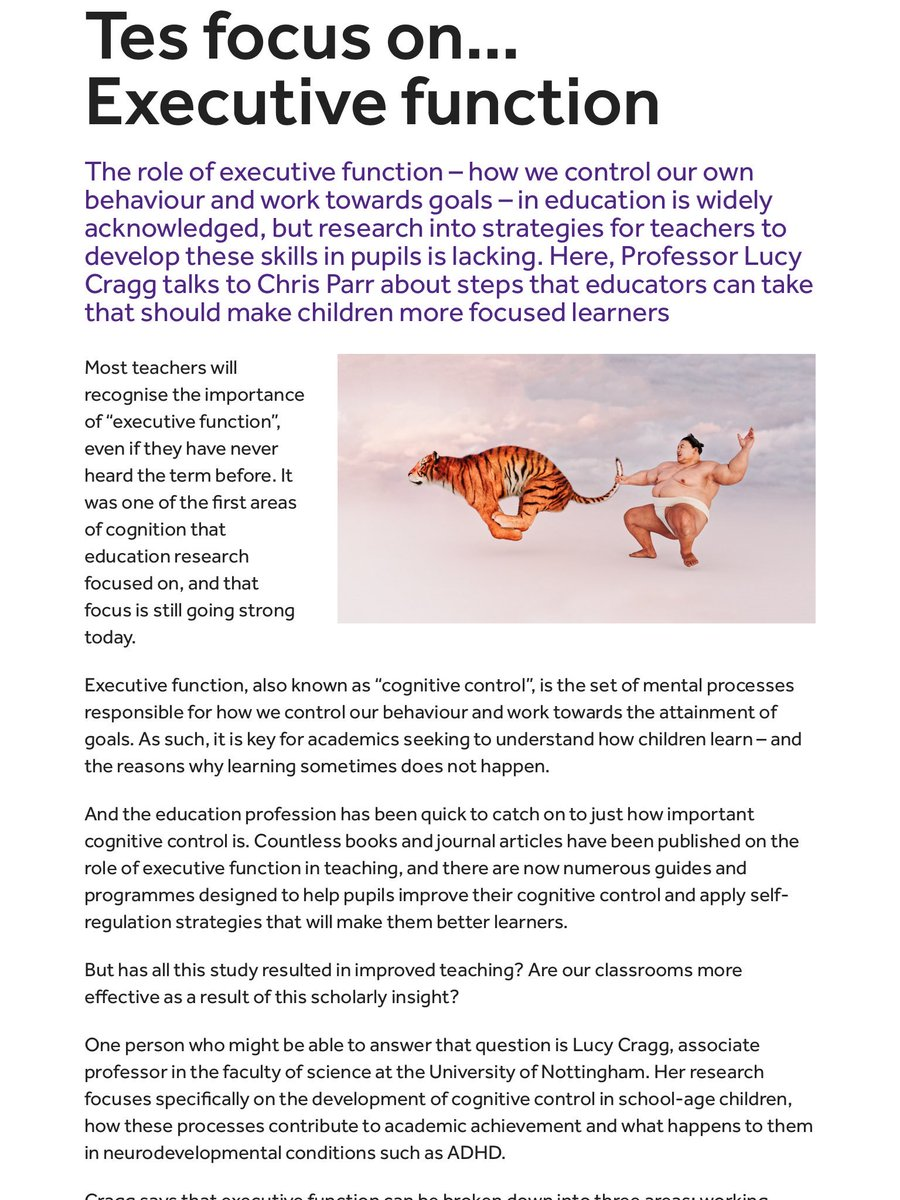 importance of cognition in learning