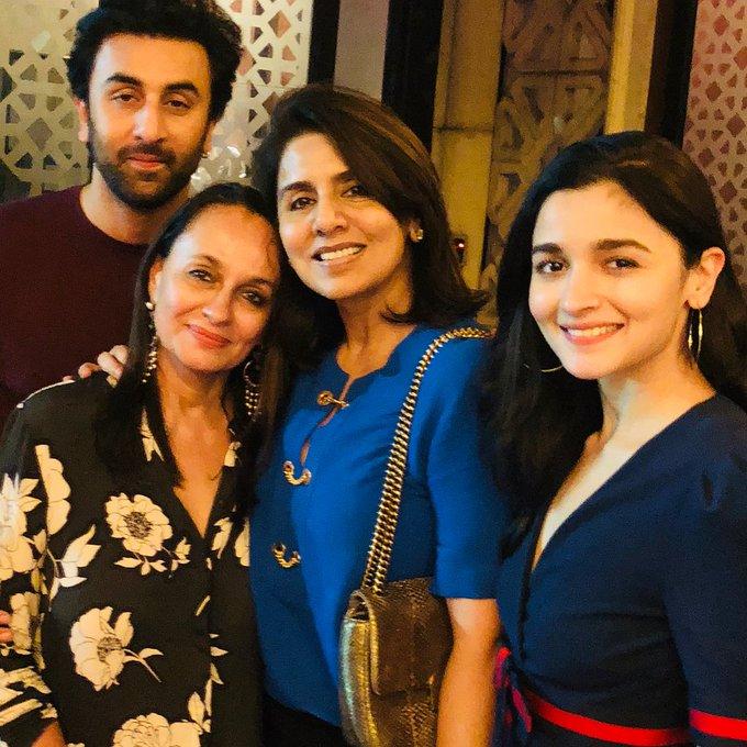 Happy Birthday Ranbir Kapoor: Neetu Kapoor\s wish includes Alia Bhatt and her mom Soni Razdan; VIEW PIC
