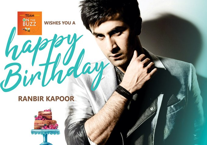 Wishing you a happy birthday and a year that s blessed.  Happy Birthday Ranbir Kapoor