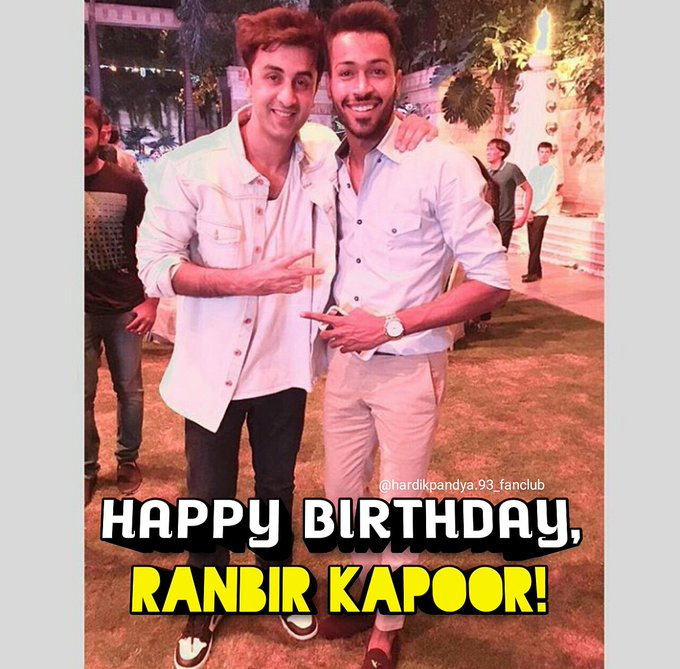 Happy Birthday, Ranbir Kapoor  .