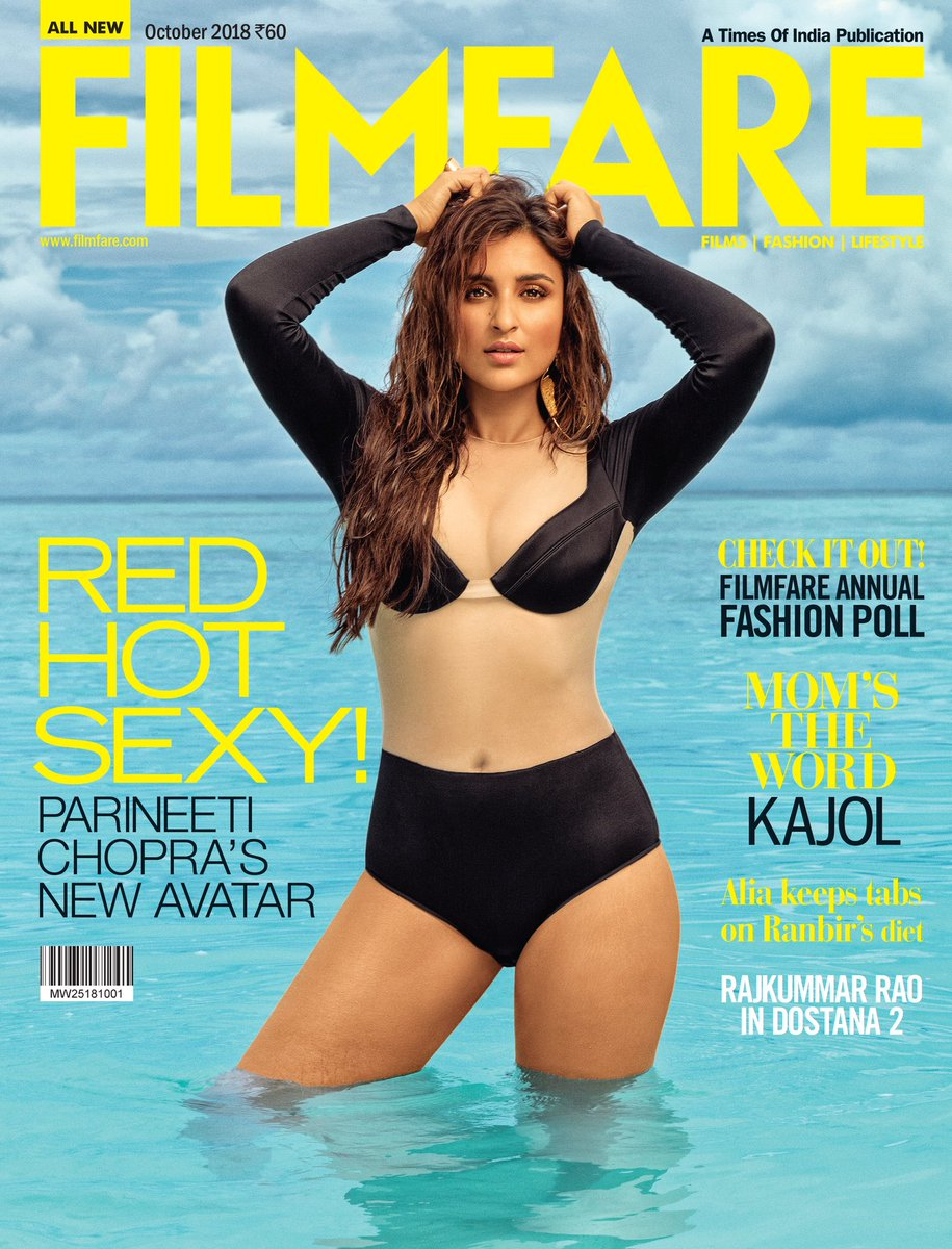Parineeti Chopra sets Fire in this Latest Photoshoot
