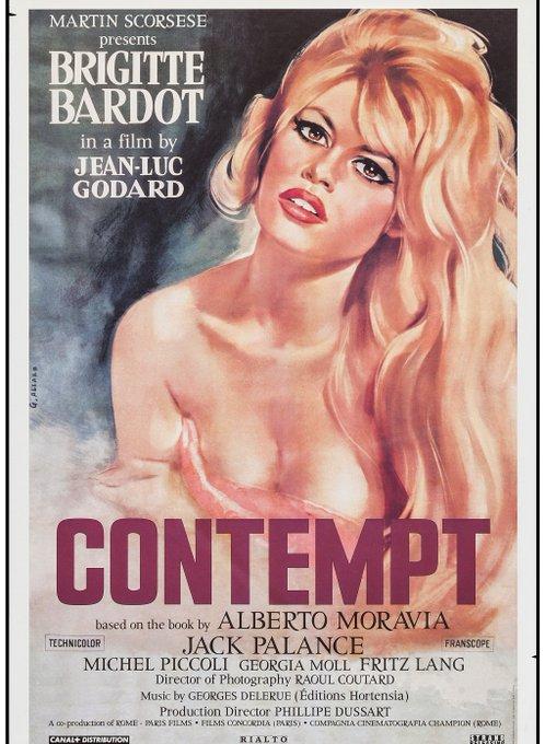 HAPPY BIRTHDAY! Brigitte Bardot Le Mépris (CONTEMPT Jean-Luc Godard)