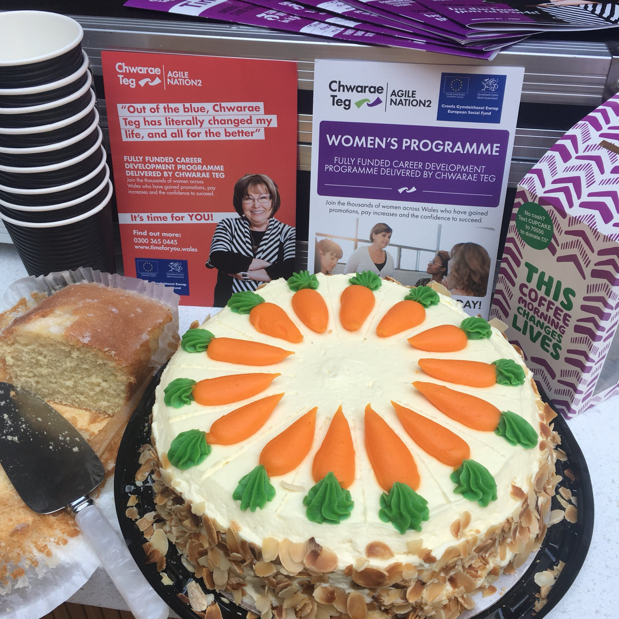 Chwarae Teg On Twitter Anyone For Carrot Cake Join Us