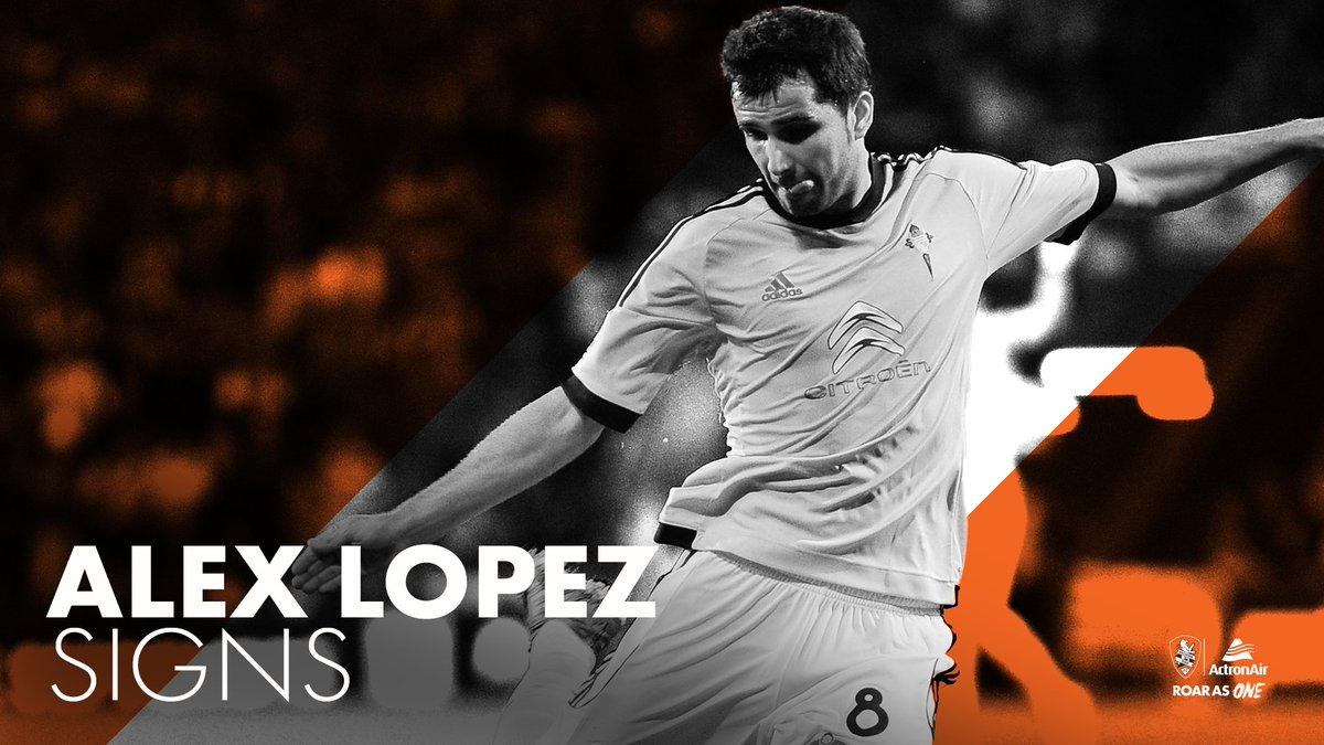 El Brisbane Roar anuncia la contratación de Álex López.