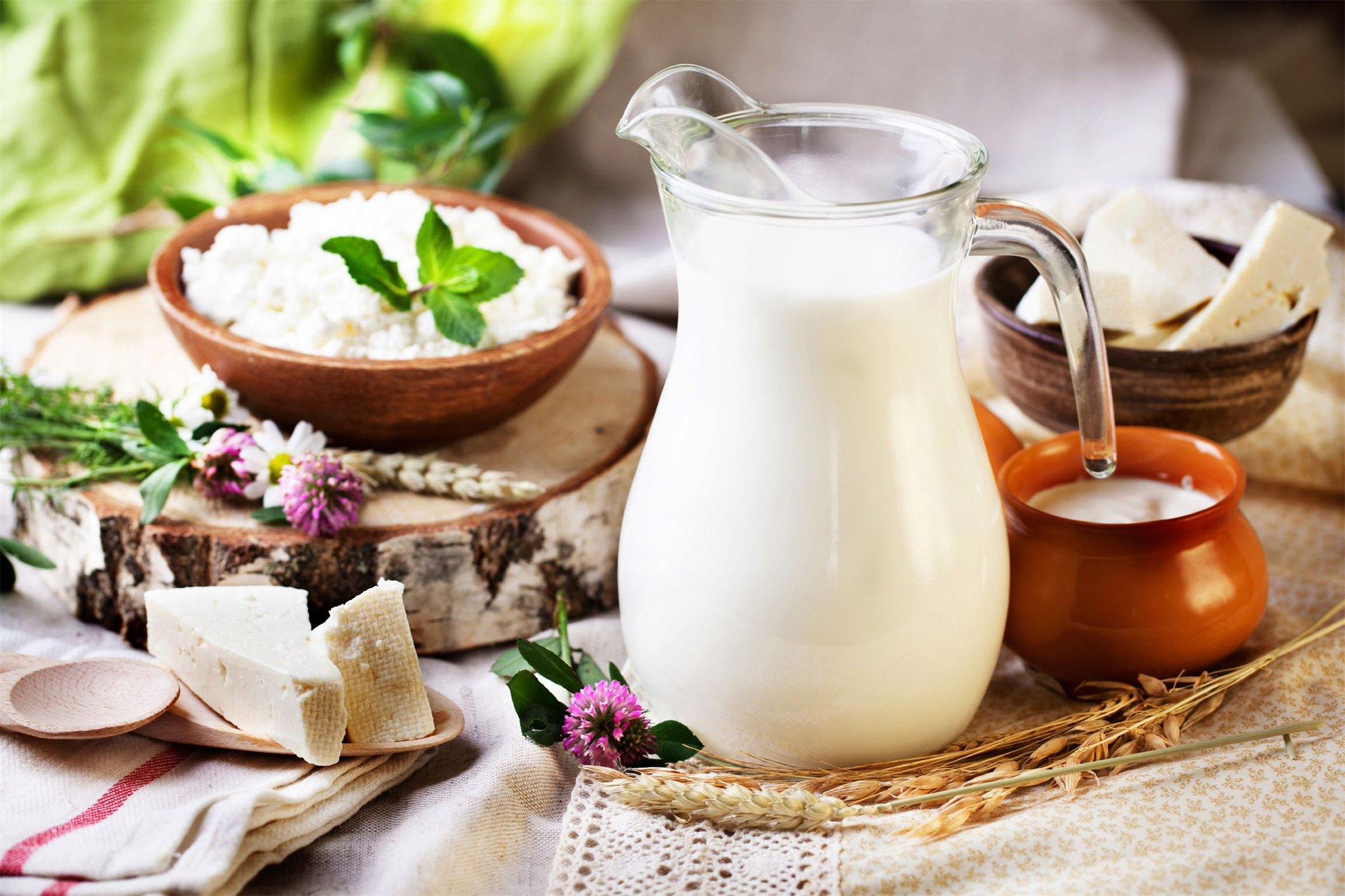 Молочные картинки