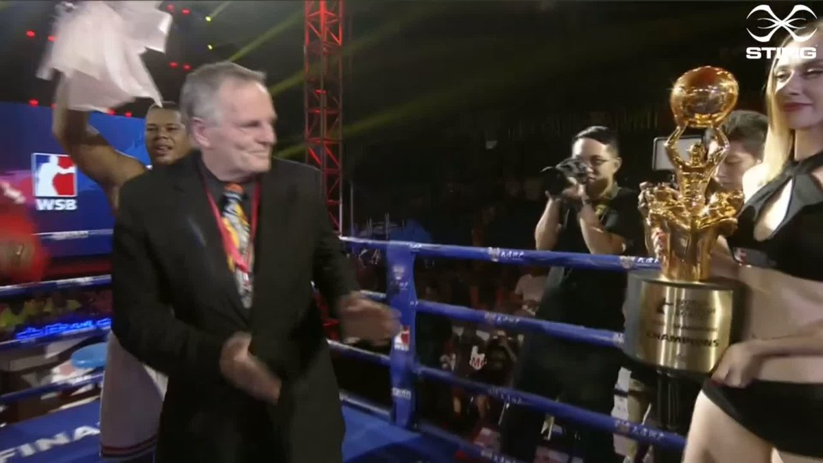 The @DomadoresCuba are crowned WSB Series 8 Champions!  #WSB8 #Boxing https://t.co/6H1rEHl9ro