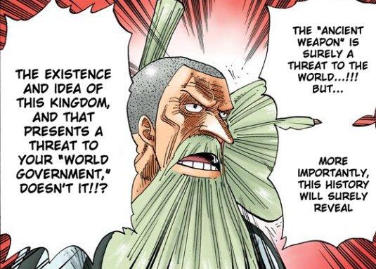 """Thread by @AbamHura: """"Buat fans One Piece. Harini kita akan borak sikit tentang salah satu misteri dalam One Piece yang kita semua nak tau dari dulu sampailah sek […]"""""""