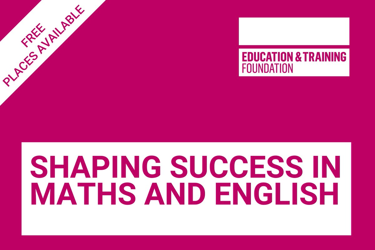 18ce0875e5 To find out more or register your interest, contact  shapingsuccess@skillsedugroup.co.uk or call 0115 854 1623pic.twitter .com/g9uRciRPRI