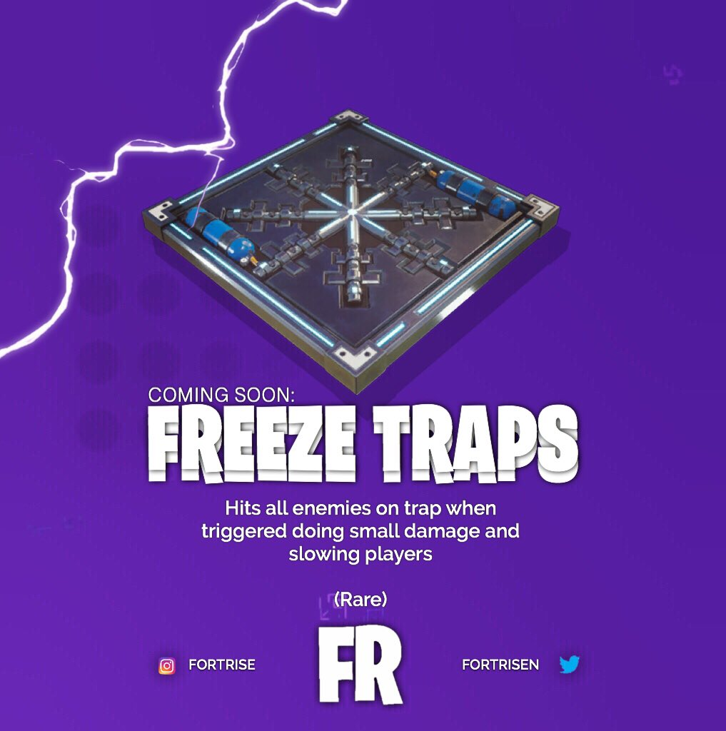 freeze trap fortnite