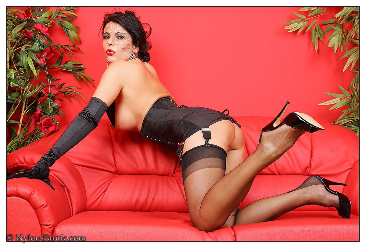 Belinda b nude in stocking lover