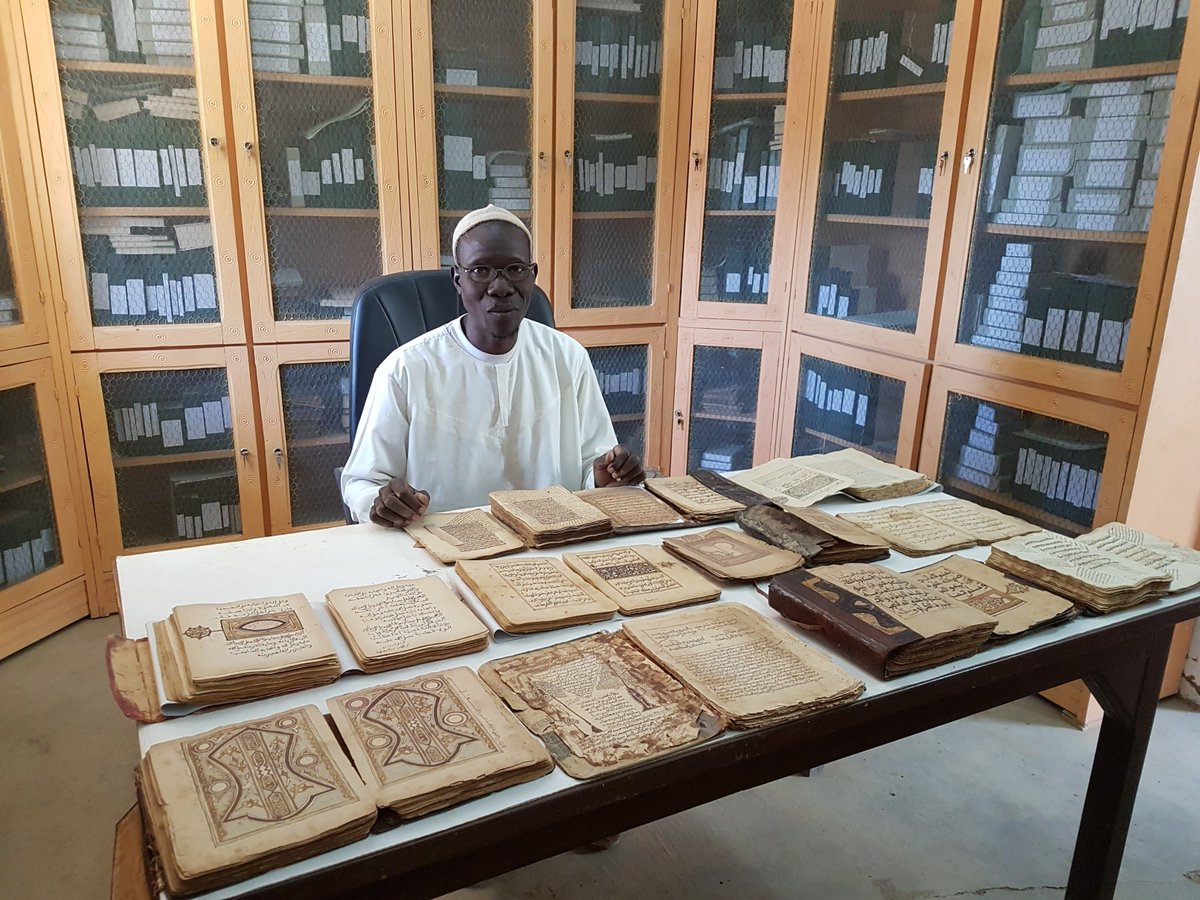 test Twitter Media - Listen to @MarionWallace18 talking about 'Beyond Timbuktu - Preserving the Manuscripts of Djenné', a new FREE exhibition @britishlibrary. Happy to support the documentation of these manuscripts through the Endangered Archives Programme! @bl_eap #openaccess https://t.co/K88CTtyXEc https://t.co/lxmHpAzLPk