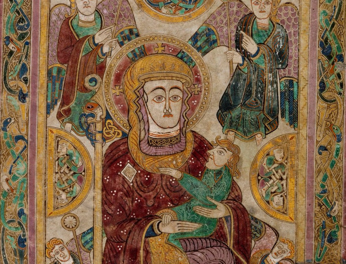 The Book Of Kells On Twitter In The Bookofkells Folio 7v The