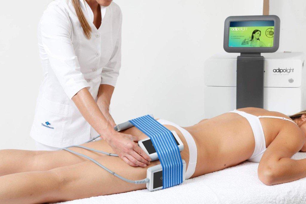Процедура аппаратного похудения