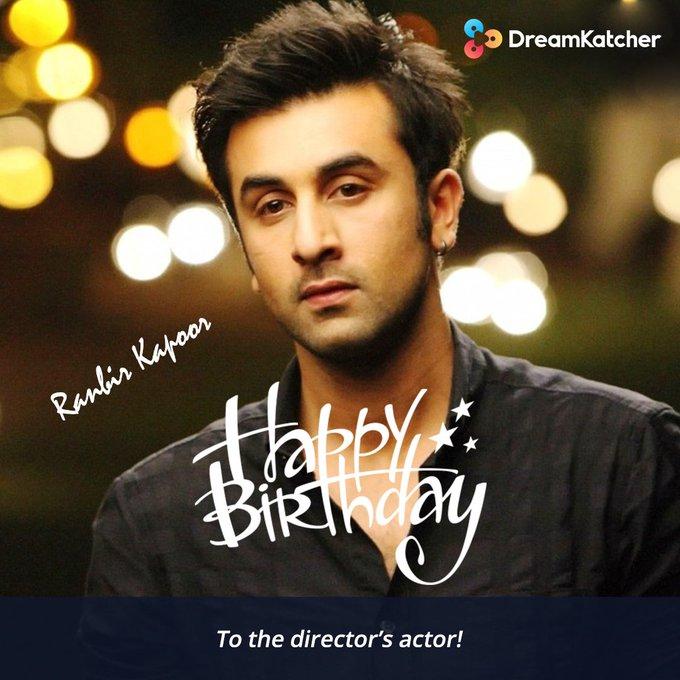 Ranbir Kapoor is celebrating his 36th birthday today; let s wish him a very happy birthday!