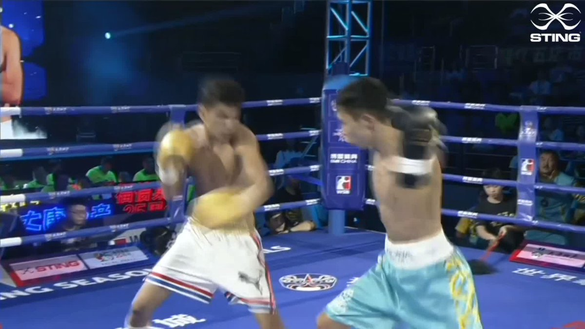 Here's the best of the action from the third round of the opening bout between Jorge Griñan Merencio v Saken Bibossinov. It's been a close one, who will get the first win of the evening?  #WSB8 #Boxing https://t.co/44a1pXuWEM