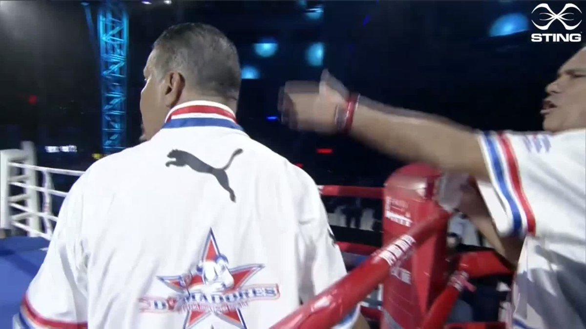 Lazaro Alvarez Estrada is on top in this bout against Zakir Safiullin. Here's the best of the action from the fourth round.  #WSB8 #Boxing https://t.co/0wEvfCXZGy