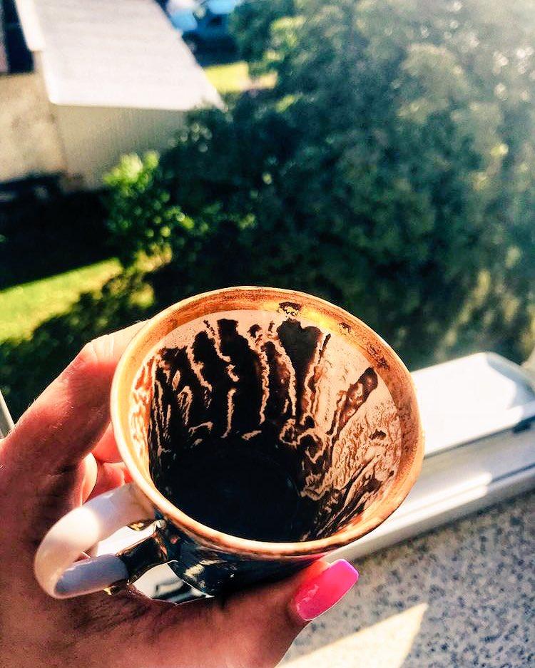 Гадания на кофе в картинках