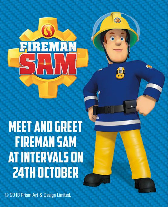 FIREMAN SAM is coming to The Hop Farm on Wednesday 24th October!! Come & meet your favourite TV firefighter at intervals during the day. We have lots of Halloween activities during Half Term week too. Info: https://t.co/O4SngYhdR3 @FiremanSamUK @KM...